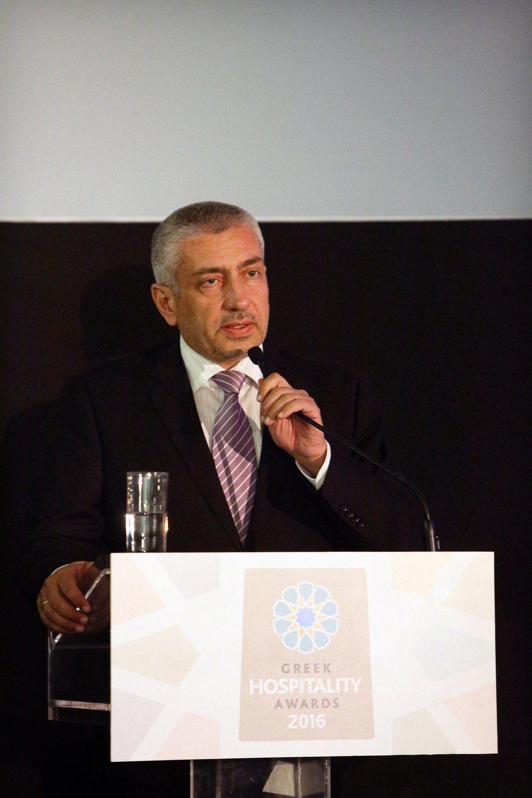 Χαιρετισμός Κωνσταντίνου Ουζούνη, Γενικού Διευθυντή της Ethos Media S.A.
