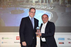 Κατηγορία Best Greek All Inclusive Resort_ SILVER AWARD: CACTUS ROYAL RESORT. To βραβείο  παρέλαβε ο κ. Νίκος Χαλκιαδάκης,  Διευθύνων Σύμβουλος.