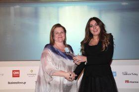 Κατηγορία Best Greek  All Suites Resort_ SILVER AWARD: RODOS PALACE. To βραβείο παρέλαβε η κα Αρτεμις Καλατζάκου, Sales Manager, Αthens Office.