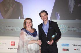 Κατηγορία Best Greek  All Suites Resort_ BRONZE AWARD: PANORAMA SUITES. To βραβείο παρέλαβε ο κ. Γιώργος Κολτσίδας, General Manager.