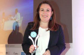 Κατηγορία Best Greek Hotel Dining Experience_ SILVER AWARD: ALDEMAR RESORTS. To βραβείο παρέλαβε η κα Νανά Μεντζελοπούλου, Τμήμα Πωλήσεων