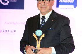 Κατηγορία Best Greek Hotel Restaurant _ GOLD AWARD: Kenshō Boutique Hotel & Suites. To βραβείο παρέλαβε o κ. Κώστας Παπαχριστοφόρου, General Manager.