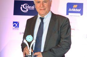 Κατηγορία Best Greek Hotel Restaurant _ SILVER AWARD: LOUIS HOTELS. To βραβείο παρέλαβε o κ. Θεοδώρου Ποσειδών, Περιφερειακός Διευθυντής.