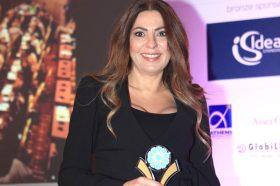 Κατηγορία Best Greek Hotel Conference Center _ GOLD AWARD: RODOS PALACE. To βραβείο παρέλαβε η κα Αρτεμις Καλατζάκου, Sales Manager, Αthens Office.