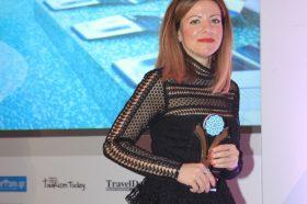 Κατηγορία Best Greek Hotel & SPA _ GOLD AWARD: AVRA IMPERIAL HOTEL. To βραβείο παρέλαβε η κα Αθηνά Χανιωτάκη, Διευθύνουσα  Σύμβουλος.
