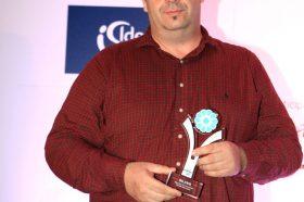 Κατηγορία Best Greek Pet Friendly Hotel _ SILVER AWARD: Erodios Hotel Lesvos. To βραβείο παρέλαβε o κ. Χαράλαμπος Φούφας, Ιδιοκτήτης.