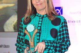 Κατηγορία Best Greek Excellence in Service Hotel _ BRONZE AWARD: Gianmari - Yasemi of Chios OE. To βραβείο παρέλαβε η κα Σωτηρία Γιαννίρη, Co-Owner.