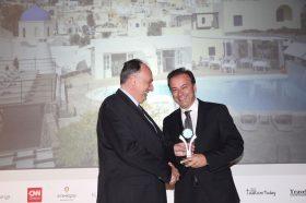 Κατηγορία Best International Hotel Brand _ SILVER AWARD: Vedema A Luxury Collection Resort. To βραβείο παρέλαβε o κ. Αντώνης Ελιόπουλος, CEO.