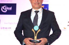 Κατηγορία Best Greek Hotel Brand_ GOLD AWARD: GRECOTEL HOTELS & RESORTS. To βραβείο παρέλαβε o κ. Γιάννης Τσίχλης, Marketing Director