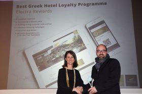 Κατηγορία Best Greek Hotel Loyalty Programme_ SILVER AWARD: m-Hospitality. To βραβείο παρέλαβε o κ. Σταύρος Χαμπάκης, Διευθύνων Σύμβουλος.