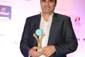 Κατηγορία Βest Greek Hotel Technology Innovation_GOLD  AWARD: LG Electronics Ελλάς Α.Ε. To βραβείο παρέλαβε o κ. Ιωάννης Μαντάς, Εμπορικός Διευθυντής.