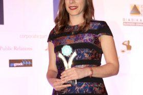 Κατηγορία Best Greek Hotel WebSite _SILVER  AWARD: Herodion Hotel by Nelios. To βραβείο παρέλαβε η κα Έυη Παπαγεωργίου, Web Developer, Nelios.