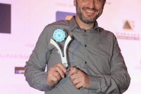 Κατηγορία Best Greek Hotel WebSite Developer_SILVER  AWARD: TOOL ΕΠΕ. To βραβείο παρέλαβε ο κ. Κώστας Καραχάλιος, CEO.