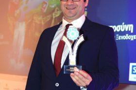 Κατηγορία Best Greek Hotel Marketing Strategy_GOLD AWARD: EKDROMI.GR. To βραβείο παρέλαβε ο κ. Ιωάννης Δημόπουλος, Διευθύνων Σύμβουλος.