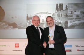Κατηγορία Best Hotel Digital Marketing Agency _GOLD AWARD: NELIOS. To βραβείο παρέλαβε ο κ. Δημήτρης Σερίφης,  CEO.