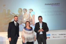 Κατηγορία Best Hotel Marketing & Social Media Provider_GOLD AWARD: PANADVERT: To βραβείο παρέλαβε o κ. Ιωάννης Γιαννάτος, Ιδρυτής.