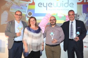 Κατηγορία Best Hotel Marketing & Social Media Provider_SILVER AWARD: EyeWide Digital Marketing Agency.