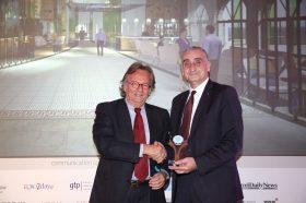 Κατηγορία Best Greek Hotel Management Strategy_GOLD AWARD: ZEUS INTERNATIONAL. To βραβείο παρέλαβε ο κ. Γιώργος Μαργαρίτης, Γενικός Διευθυντής