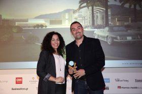Κατηγορία Best Greek Architectural Firm_GOLD AWARD: ΔΗΜΙΟΥΡΓΙΚΗ ΕΠΕ. To βραβείο παρέλαβε ο κ. Κώστας Γλεντουσάκης, Ιδιοκτήτης.