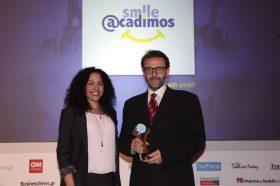 Κατηγορία Best Best PCO/DMC_GOLD AWARD: SMILE ACADIMOS. To παρέλαβε ο κ. Βασίλειος Μιχαλακόπουλος, Γενικός Διευθυντής.