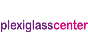 plexiglass center logo