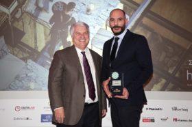 Κατηγορία Best Greek New City Hotel GOLD AWARD: Antigon Urban Chic Hotel (μέλος της HotelBrain)