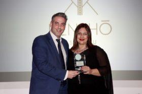 Κατηγορία Best Greek Design Resort_SILVER AWARD: Art Hotel Santorini (μέλος Aqua Vista Hotels)