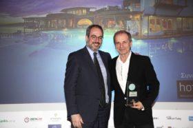 Κατηγορία Best Greek Villa Resort_GOLD AWARD:  Zinas Villas  (μέλος της HotelBrain)