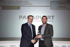 Κατηγορία Best Digital Advertising and Performance Campaign_GOLD AWARD: Panadvert