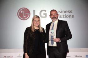 Κατηγορία Best Hotel Sustainable Solutions Provider_GOLD AWARD: LG Electronics Ελλάς